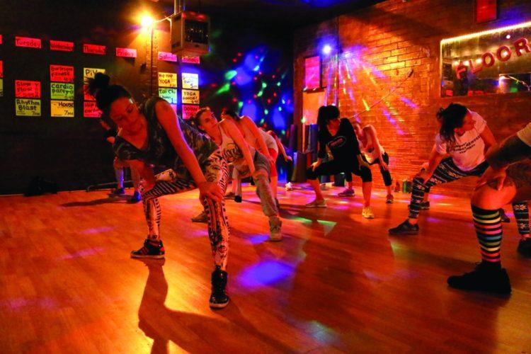 Daily Wildcat: Floor Polish brings fun in fitness